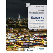 Hodder Cambridge International AS and A Level Economics Student Book (2nd Edition) - ISBN 9781398308275