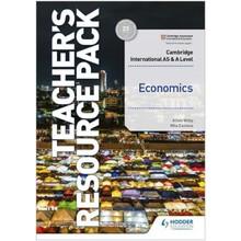 Hodder Cambridge International AS & A Level Economics Teacher's Resource Pack - ISBN 9781398308299