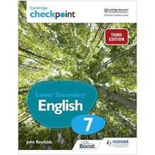 Hodder Cambridge Checkpoint Lower Secondary English Student's Book 7 (3rd Edition) - ISBN 9781398300163