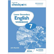 Hodder Cambridge Checkpoint Lower Secondary English Workbook 7 - ISBN 9781398301337