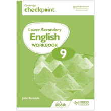 Hodder Cambridge Checkpoint Lower Secondary English Workbook 9 - ISBN 9781398301368