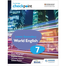 Hodder Cambridge Checkpoint Lower Secondary World English Student's Book 7 - ISBN 9781398311411