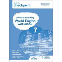 Hodder Cambridge Checkpoint Lower Secondary World English Workbook 7 - ISBN 9781398311350