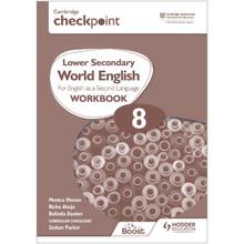 Hodder Cambridge Checkpoint Lower Secondary World English Workbook 8 - ISBN 9781398311367