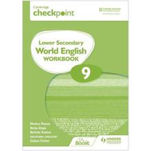 Hodder Cambridge Checkpoint Lower Secondary World English Workbook 9 - ISBN 9781398311404