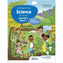 Hodder Cambridge Primary Science Learner's Book 1 (2nd Edition) - ISBN 9781398301573