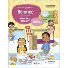 Hodder Cambridge Primary Science Learner's Book 2 (2nd Edition) - ISBN 9781398301610