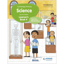 Hodder Cambridge Primary Science Learner's Book 4 (2nd Edition) - ISBN 9781398301696