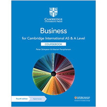Cambridge International AS & A Level Business Coursebook with Digital Access (2 Years) - ISBN 9781108921220