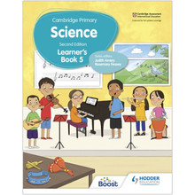 Hodder Cambridge Primary Science Learner's Book 5 (2nd Edition) - ISBN 9781398301733