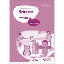 Hodder Cambridge International Primary Science Workbook 2 (2nd Edition) - ISBN 9781398301474