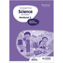 Hodder Cambridge International Primary Science Workbook 3 (2nd Edition) - ISBN 9781398301498