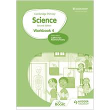 Hodder Cambridge International Primary Science Workbook 4 (2nd Edition) - ISBN 9781398301511