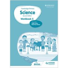 Hodder Cambridge International Primary Science Workbook 5 (2nd Edition) - ISBN 9781398301542