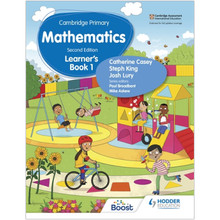 Hodder Cambridge Primary Maths Learner's Book 1 (2nd Edition) - ISBN 9781398300903