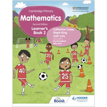 Hodder Cambridge Primary Maths Learner's Book 2 (2nd Edition) - ISBN 9781398300941
