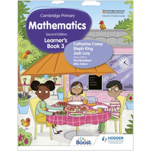 Hodder Cambridge Primary Maths Learner's Book 3 (2nd Edition) - ISBN 9781398300989