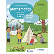 Hodder Cambridge Primary Maths Learner's Book 5 (2nd Edition) - ISBN 9781398301061