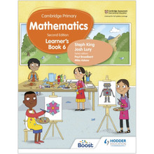 Hodder Cambridge Primary Maths Learner's Book 6 (2nd Edition) - ISBN 9781398301108