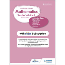 Hodder Cambridge Primary Mathematics Teacher's Guide Stage 2 with Boost Subscription - ISBN 9781398300798