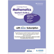 Hodder Cambridge Primary Mathematics Teacher's Guide Stage 3 with Boost Subscription - ISBN 9781398300804