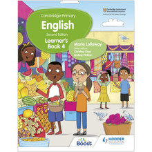 Hodder Cambridge Primary English Learner's Book 4 (2nd Edition) - ISBN 9781398300279