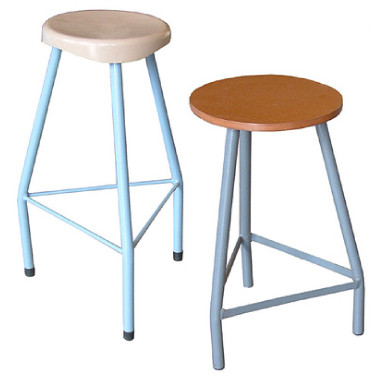 Regular Lab Stools With Plastic Or Mdf Seats In 2 Height