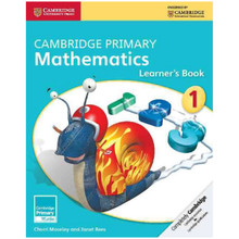 Cambridge Primary Mathematics Learners Book 1 - ISBN 9781107631311