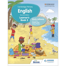 Hodder Cambridge Primary English Learner's Book 5 (2nd Edition) - ISBN 9781398300286