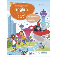 Hodder Cambridge Primary English Learner's Book 6 (2nd Edition) - ISBN 9781398300293