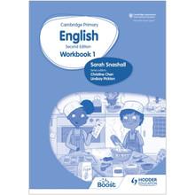 Hodder Cambridge Primary English Workbook 1 (2nd Edition) - ISBN 9781398300217