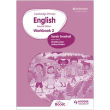 Hodder Cambridge Primary English Workbook 2 (2nd Edition) - ISBN 9781398300309