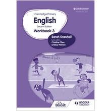 Hodder Cambridge Primary English Workbook 3 (2nd Edition) - ISBN 9781398300316