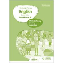 Hodder Cambridge Primary English Workbook 4 (2nd Edition) - ISBN 9781398300323