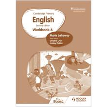 Hodder Cambridge Primary English Workbook 6 (2nd Edition) - ISBN 9781398300347
