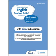 Hodder Cambridge Primary English Teacher's Guide Stage 1 with Boost Subscription - ISBN 9781398300538
