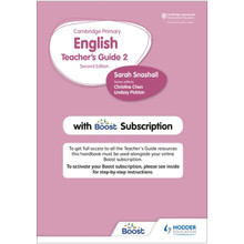 Hodder Cambridge Primary English Teacher's Guide Stage 2 with Boost Subscription - ISBN 9781398300545