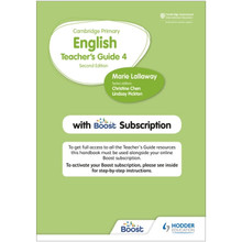 Hodder Cambridge Primary English Teacher's Guide Stage 4 with Boost Subscription - ISBN 9781398300569