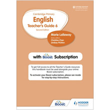 Hodder Cambridge Primary English Teacher's Guide Stage 6 with Boost Subscription - ISBN 9781398300583