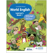 Hodder Cambridge Primary World English Learner's Book Stage 1 - ISBN 9781510467897