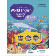 Hodder Cambridge Primary World English Learner's Book Stage 3 - ISBN 9781510467910