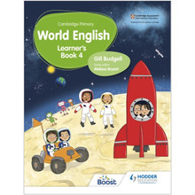 Hodder Cambridge Primary World English Learner's Book Stage 4 - ISBN 9781510467927