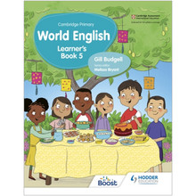 Hodder Cambridge Primary World English Learner's Book Stage 5 - ISBN 9781510467934