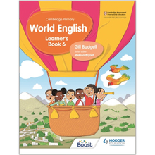 Hodder Cambridge Primary World English Learner's Book Stage 6 - ISBN 9781510468092