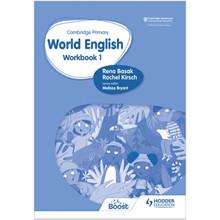 Hodder Cambridge Primary World English Workbook Stage 1 - ISBN 9781510467941