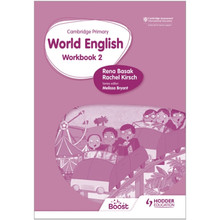 Hodder Cambridge Primary World English Workbook Stage 2 - ISBN 9781510467958