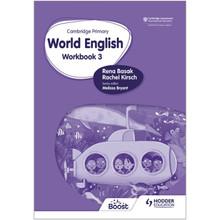 Hodder Cambridge Primary World English Workbook Stage 3 - ISBN 9781510467965