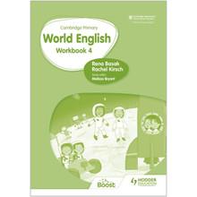 Hodder Cambridge Primary World English Workbook Stage 4 - ISBN 9781510467972