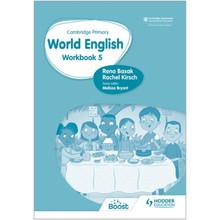 Hodder Cambridge Primary World English Workbook Stage 5 - ISBN 9781510467989
