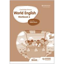 Hodder Cambridge Primary World English Workbook Stage 6 - ISBN 9781510467996